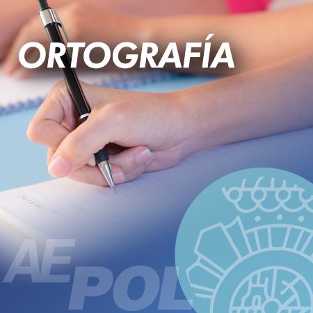 cuso ortografia policia nacional
