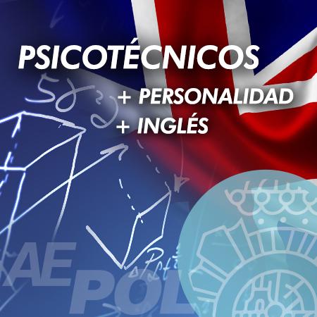 curso psicotecnicos personalidad ingles policia nacional