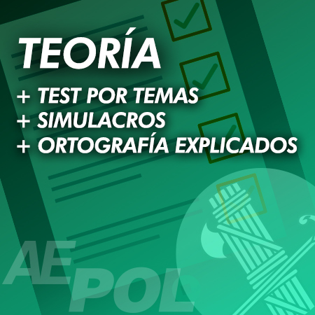 curso teoria test simulacros ortografia guardia civil