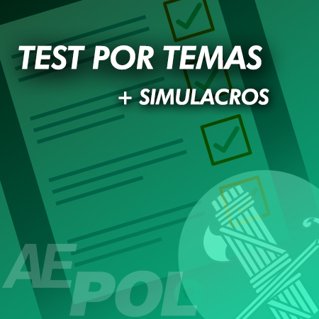 curso test simulacros guardia civil