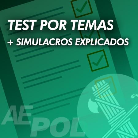curso test simulacros explicados guardia civil