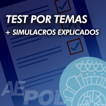curso test simulacros explicados policia nacional