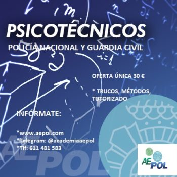 curso online psicotécnicos policia nacional